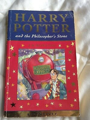 Philosophers stone 1st edition 1st print VG condition very rare Harry Potter