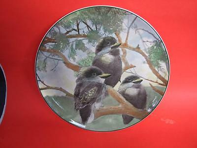 "ROYAL DOULTON WALL PLATE "" YOUNG KOOKABURRA'S""  VINTAGE c1930 DECORATIVE ART"