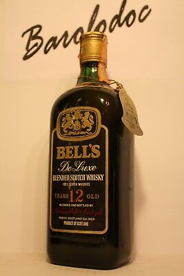 Whisky Bell's de Luxe 12 Years old , Scotland , cl 0,75 , 40%