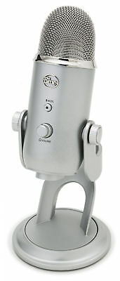 Blue Microphones Yeti USB Microphone Silver Edition