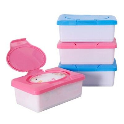 Dry Wet Tissue Paper Case Baby Wipes Napkin Storage Box Holder Container Plastic