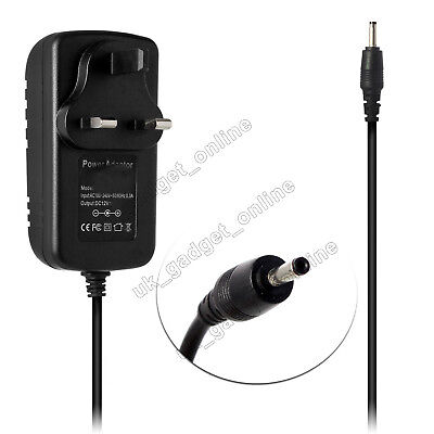 12V 2A Mains AC-DC Switching Adaptor Power Supply Charger 5.5mm x 2.1mm / 2.5mm