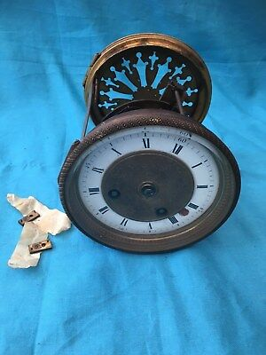 Clock Parts - Medaille D Argent Clock Movement With Rear Door # 42