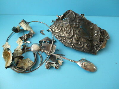 JOB LOT FULLY HALLMARKED GOOD QUALITY SOLID SILVER SCRAP 100grms