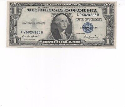 1935 One $1 Dollar Silver Certificate Notes G-VG US Currency
