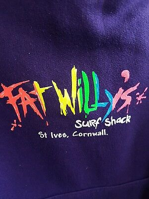 Girls Fat Willy's St Ives Hoodie Age 5-6