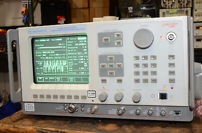 Motorola General Dynamics FDMA Communications System Analyzer R2670A R-2670A