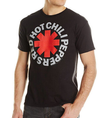 Red Hot Chili Peppers Asterisk Black T-Shirt