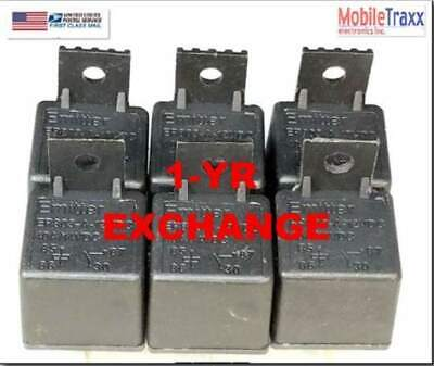12V 40A Relay Bosch Style  (6-PACK) SPST 4-Pin