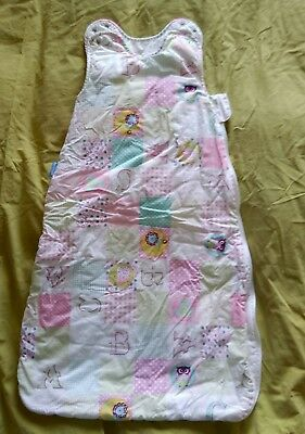 6-18m Grobag sleeping bag, 3.5 tog. Excellent, hardly used condition.