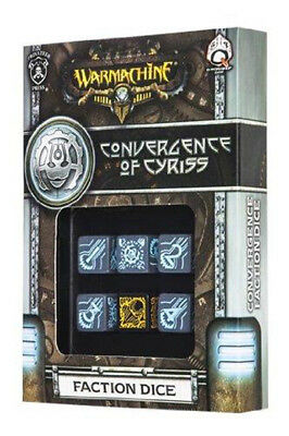 Warmachine Convergence of Cyriss Faction Dice