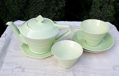 PARAGON CHINA - PART TEA SERVICE [Pale Green]