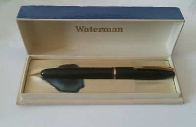 waterman stylo plume or 18 carats.