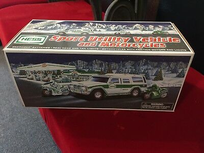 Hess Sport Utility Vehicle and Motorcycles (2004 Hess Toy Truck) NIB New In Box
