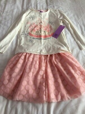 BNWT Skirt And Top Outfit Age 6-7