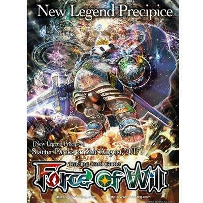 Force of Will - Light King of The Mountain Starter Deck - New Legend Precipice -