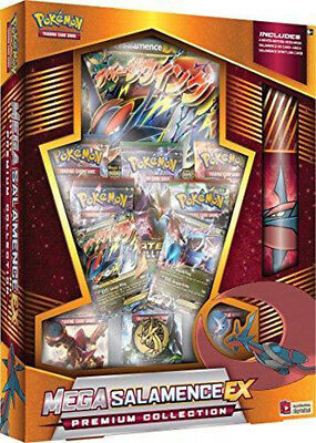 PKM - Mega Garchomp-Ex /Salamence-Ex - Premium Collection - English