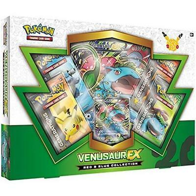 Pokemon TCG Red & Blue Collection Venusaur-EX - English