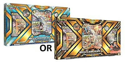Pokemon Box Mega Camerupt-EX Sharpdedo-EX - English
