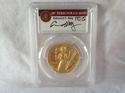 2015-W $100 American Gold Liberty PCGS MS69 High Relief SIGNED First Strike MOY
