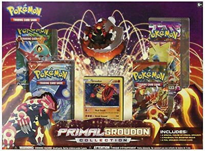 Pokemon Primal Groudon and Kyogre Collection - English