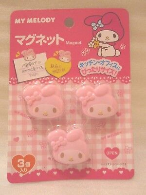 Sanrio My Melody Kawaii cute Magnet clip Insert a note Japan New Free shipping