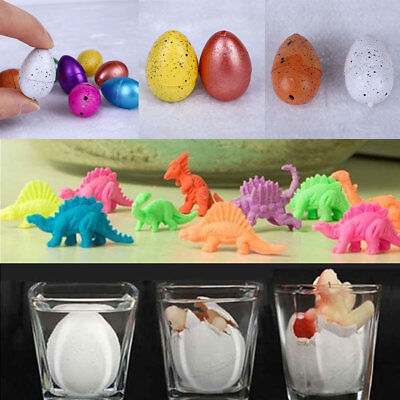 10 Hatching Growing Dinosaur Add Water Grow Dino Egg Cute Children Kid Toys Gift