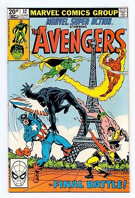 Marvel Super Action #32 - The Avengers/Blockbusters From Britain