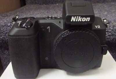 Nikon 1 V2 14.2MP Digital Camera - Black (Body and accessories Only No Lenses)