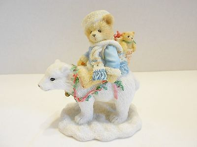 Cherished Teddies Eric #622796 -Polar Bear Tidings Of Joy  Christmas