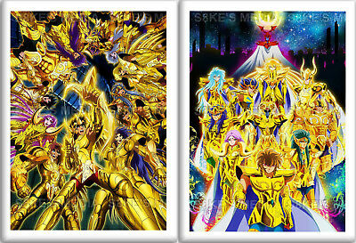 Saint Seiya Fridge Magnet 50mm x 35mm