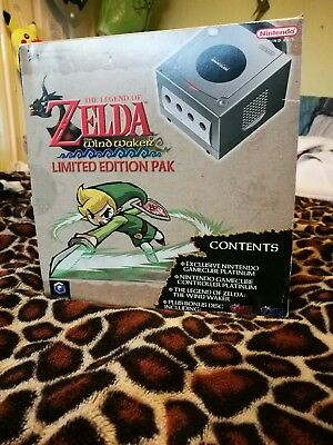 Gamecube Console The Legend Of Zelda The Wind Waker Edition