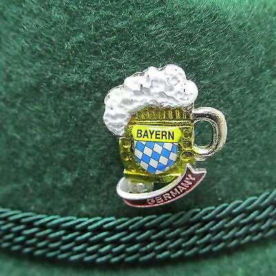 Beer Stein Bayern-Germany Oktoberfest Hat Pin