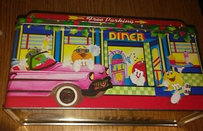 M & M Tin~1996  Ltd Ed Christmas Village Series~Diner, Number 04, Ex Cond