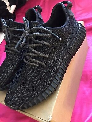 61694d3bd4d ADIDAS YEEZY BOOST 350 1.0 Pirate Black Sz 9.5 -  640.00