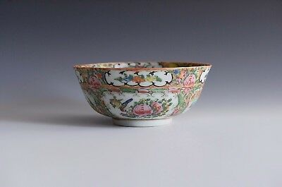 An Antique Chinese Rose Medallion Bowl
