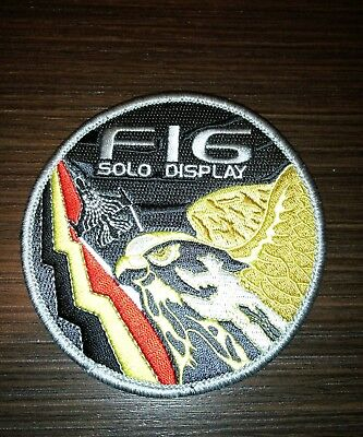 Belgian air force Solo display patch 1