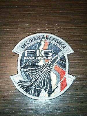 Belgian air force Solo display patch
