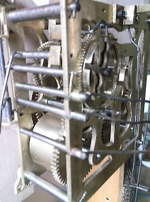 Cuckoo Clock Movement,antique Key Wind,bushed & Cleaned