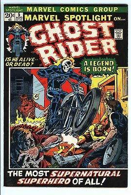 Marvel Spotlight #5 Vol 1 Near Perfect High Grade 1st Appearance of Ghost Rider