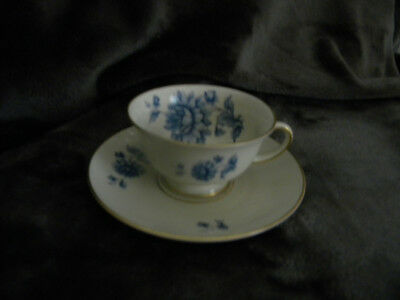 Rosenthal Bahnhof Selb Demitasse Cup & Saucer AIDA Germany/EXCELLENT CONDITION