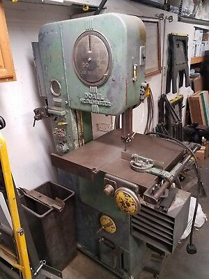doall vertical band saw 16inch metal master