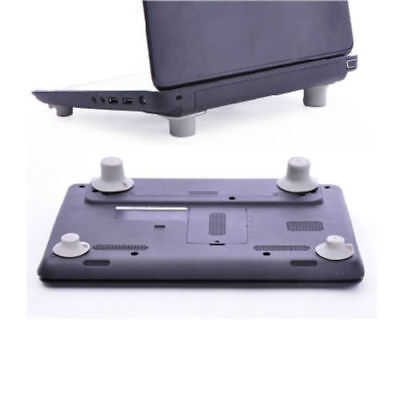 4pcs Notebook Laptop Heat Reduction Pad Cooling Feet Stand Holder