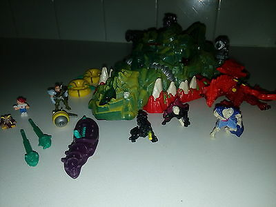 Mighty Max Dragon Island complete,working,instructions