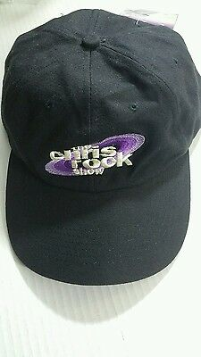 VINTAGE 90s CHRIS ROCK SHOW HAT Black Baseball Cap Sewn Logo HBO Snapback NWT