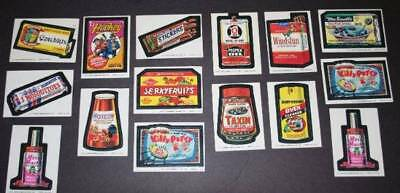Lot of 66 Wacky Packages Cards/ Stickers  Lot of 15 Topps 1974 &  51 OPC 1992