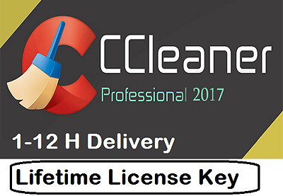 CCleaner PRO Professional  2017 Lifetime 3 PC License , free updates