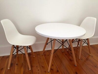 Childrens Eams table and chairs