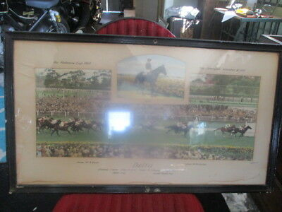 RARE  -- photograph. The winning post --MEBOURNE CUP 1951--ORIGNAL-DELTA