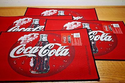 Set Of 4 Coca Cola Coke Placemat Placemats Lot New W/ Tag